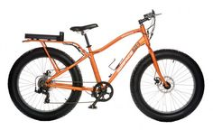Element Electric Fat Bike Orange Side A