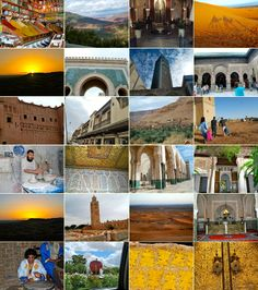 Colores de Marruecos Collage, Mood, Morocco, Colors, Collage Art, Colleges