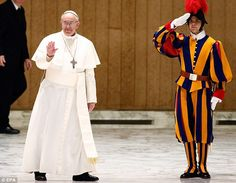 Just when you think you couldnt love Pope Francis more....this story will make you smile:)