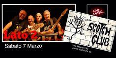 #Lato2 cover #rock Saturday, March 7th 2015 at #ScotchClub Via Milano 190 #Magenta #Milano Hoping to see many of you!!! Vi aspettiamo!!!  #AlbertoAdami #bass #singer #MarcoMassicut #guitar #MaurizioBonucci #keyboards #DaniloCarelli #drums #drummer  #MusicCanChangeTheWorld