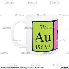 Yoshi periodic table name mug periodic table aunt periodic table name mug urtaz Choice Image