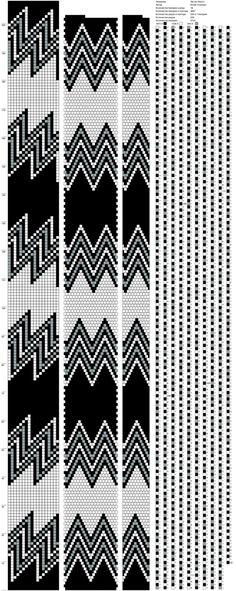 18 Crochet Bracelet Pattern, Crochet Beaded Bracelets, Bead Crochet Patterns, Seed Bead Patterns, Bead Loom Bracelets, Beaded Crafts, Beaded Bracelet Patterns, Loom Patterns, Jewelry Patterns