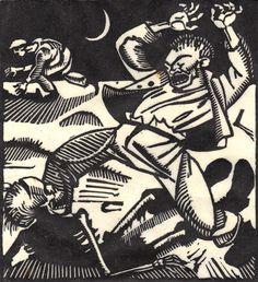 The Death-Dance Anno (Vom Totentanz Anno) by Otto Wirsching (Germany, 1915) Otto's Dance of Death - 50 Watts