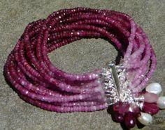 Tourmaline Gemstone Bracelet Tourmaline Cuff Bracelet