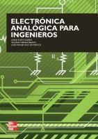 Ingebook - ELECTRÓNICA ANALÓGICA PARA INGENIEROS -
