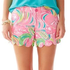 Lilly Pulitzer Pants - SALE Lilly Pulitzer Multi All Nighter Buttercup'0'