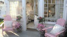 Shabby porch