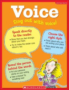 Scholastic Teacher Express - Scholastic Charts: Writing Traits: Voice