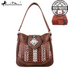Montana West MW223G-8291 Bling Bling Concealed Carry Handbag
