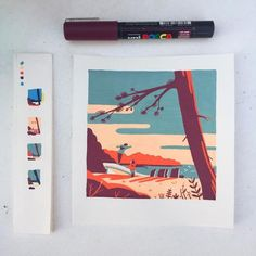 mentions J'aime, 46 commentaires – Tom Haugomat ( Marker Kunst, Posca Marker, Marker Art, Art And Illustration, Medical Illustration, Art Illustrations, Gouache Painting, Painting & Drawing, Drawing Tips