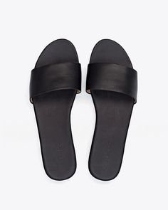 Isla Slide Sandal Black - perfect slip on shoes for all occasions / #style
