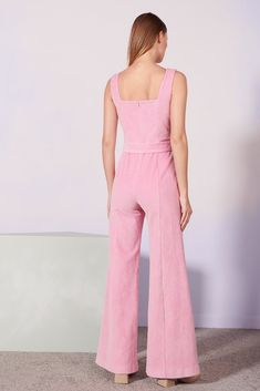 806002937f8b Designed with princess seam detailing our Travis Jumpsuit is made to  flatter. Flared to lengthen