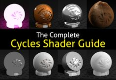 Find Cycles Nodes a little confusing? You're not alone. Whilst Cycles Nodes offer almost you limitless control over amaterials, many users struggle to understand it's labyrinth of options. Which is why this post dares to do the impossible: explain every Cycles shader in easy to understand,