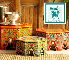 #Color #furniture #floral #Indian