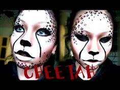 Cheetah Makeup Tutorial for Halloween | Halloween | Pinterest ...