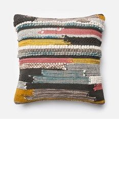 loloi pillow multi colored