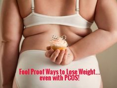 Losing weight with #PCOS is ridiculously hard, but here are some good tips to help you actually succeed.