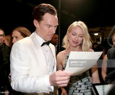 ニュース写真 : Actors Benedict Cumberbatch and Naomi Watts...
