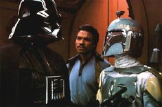 Classic Star Wars scene! The only bad guy that can back talk Vader and live!!!