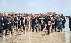 Holiday goers in Atlantic City, New Jersey ca 1905   Sanna Dullaway