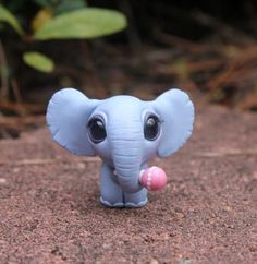 Baby elephant by BittyBiteyOnes