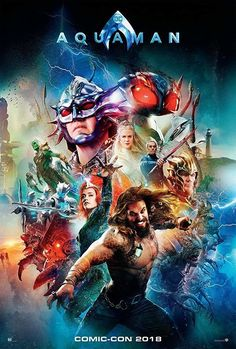 Directed by James Wan. With Jason Momoa, Amber Heard, Nicole Kidman, Patrick Wilson. Arthur Curry learns that he is the heir to the underwater kingdom of Atlantis, and must step forward to lead his people and be a hero to the world. Aquaman Film, Aquaman 2018, Aquaman Cast, Patrick Wilson, 2018 Movies, New Movies, Movies To Watch, Movies Online, Movies Free