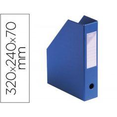 Cajetín fabricado en poliestireno de gran resistencia De gran capacidad y estabilidad que permite mantener la documentación bien ordenada y siempre a mano Incluye ollado y tarjetero identificador en el lomo Dimensiones: 320 x 240 x 70 mm. Color: Azul