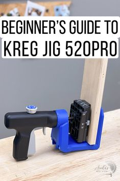 How to use the Kreg 520 and review. everything you need to know to use the Kreg 520. Learn about 520 vs 720 and how to use it to make pocket holes. #anikasdiylife #woodworking Kreg Jig Projects, Pocket Hole, Furniture Projects, Being Used, Woodworking Tools, How To Plan, Fresh Water, Sweets, Tools For Working Wood