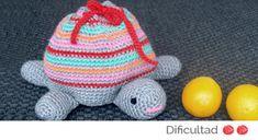 Tortuga Bolsa Amigurumi - Patrón Gratis en Español aquí: http://www.lolaylana.com/monada/tortuga-amigurimi/