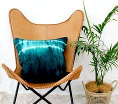 BOOLOUMBA . shibori tie dye cushion cover . pillow . throw cushion . decorative pillow . throw pillow . teal green blue peacock . boho decor Teal Pillows, Boho Pillows, Throw Cushions, Floor Pillows, Boho Green, Teal Green, Blue, Teal Tie, Shibori Tie Dye