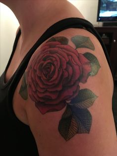 Rose tattoo by from Toronto Ink. Ink, Tattoos, Rose, Toronto, Flowers, Tatuajes, Pink, Tattoo, Japanese Tattoos