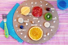 Reach for the ★s at snacktime! How to make this out-of-this-world plate to teach your kids about the solar system.