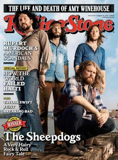 The Sheepdogs at Night and Day in Manchester, UK last week. Phenomenal gig!
