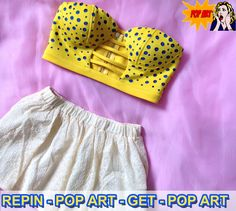 Design based on POP ART! I got the sample before launched on ROMWE website. Get the POP Top: 1. Follow @ROMWE on Pinterest 2. Repin this photo and do not change the text 3. Wait to be picked. <3  End on Aug.23rd, winner will be picked via random.org from repiners!