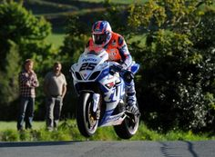 Pure roads. Isle of Man TT Josh Brookes, short circuit rider in BSB, multiple winner and title runner up twice has, at least in part, answered the argument of how circuit riders could do on roads- he posted the fastest EVER time on the first lap of the first day for a newcomer. Astonishing.