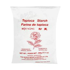 Rose Brand Tapioca Starch 400g Types Of Flour, Rose Brand, Filipino Desserts, Starchy Foods, Rice Flour, 3 Ingredients, Asian, Living Room