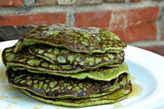 Clean Eating Green Pancakes