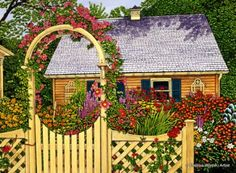 Thelma Winter has such nice paintings!