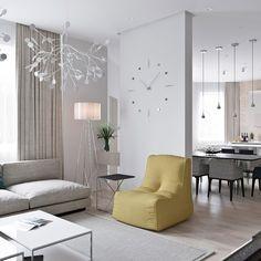 Living room for life on Behance