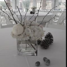 Winter wonderland themed party