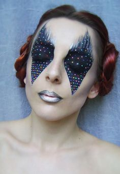 Pink Floyd - The Dark Side Of The Moon // Tribute makeup by Billy B  #spadelic #makeup #eyes #beauty