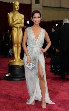 Rocsi Diaz attends the Oscars