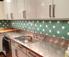 Encaustic Cement Tiles | Mosaic Tiles | Design| Amethyst Artisan | NYC | Stars Cement Tile