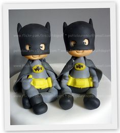 *COLD PORCELAIN ~ Batman by Biscuit da Pati, via Flickr.