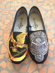 Hey, I found this really awesome Etsy listing at http://www.etsy.com/listing/130421319/hand-painted-hunger-games-shoes