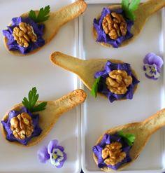 Wine Recipes, Gourmet Recipes, Appetizer Recipes, Tapas, Gourmet Food Plating, Tea Party Menu, Restaurant Dishes, Fusion Food, Food Decoration