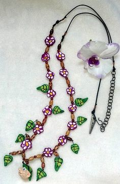 Elf in the Leaf Hat Equine Necklace  Gift for by MyBuddyBling