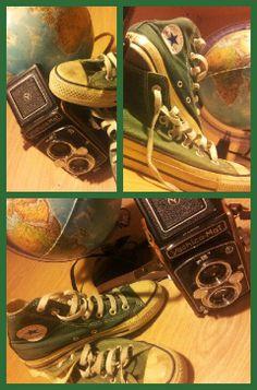 Fotografiamo le culture internazionali! Le mie Converse verdi mi accompagnano in giro per il mondo.