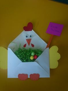 crafts for preschoolers Easter Projects, Easter Crafts For Kids, Toddler Crafts, Art Projects, Farm Crafts, Diy And Crafts, Paper Crafts, Spring Crafts, Holiday Crafts