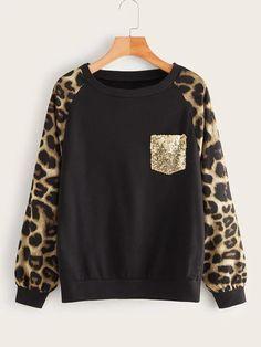 Fashion News, Fashion Outfits, Fashion Fashion, Vintage Fashion, Sr1, Printed Sweatshirts, Spandex Material, Sweat Shirt, Types Of Sleeves